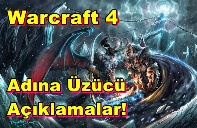Warcraft 4 Adına Üzücü Açıklamalar!