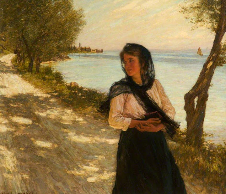 Henry Herbert La Thangue - The Festa