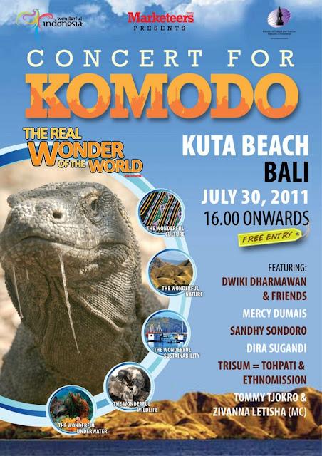 Concert for Komodo