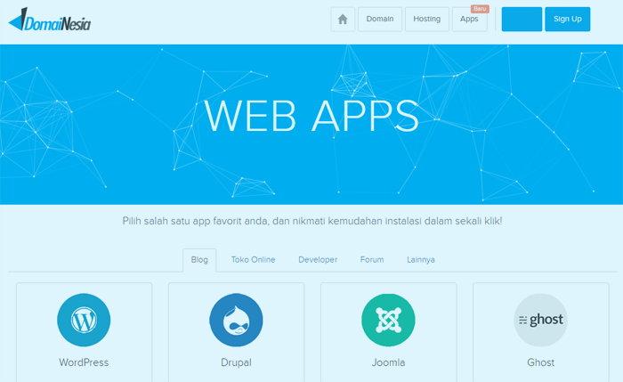 Ingin Memiliki Blog Wordpres Dengan Mudah? Coba Fitur Instant Deploy Gratis DomaiNesia
