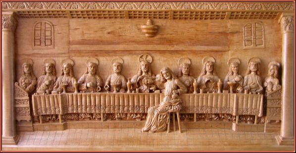 Segunda versión (año 2006). Talla en madera