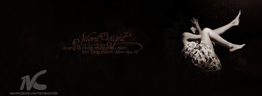 ảnh bìa facebook đêm cô đơn lặng lẽ