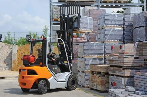 Xe nâng Still LPG Forklift