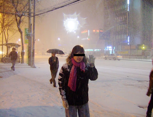 首爾自由行-初雪