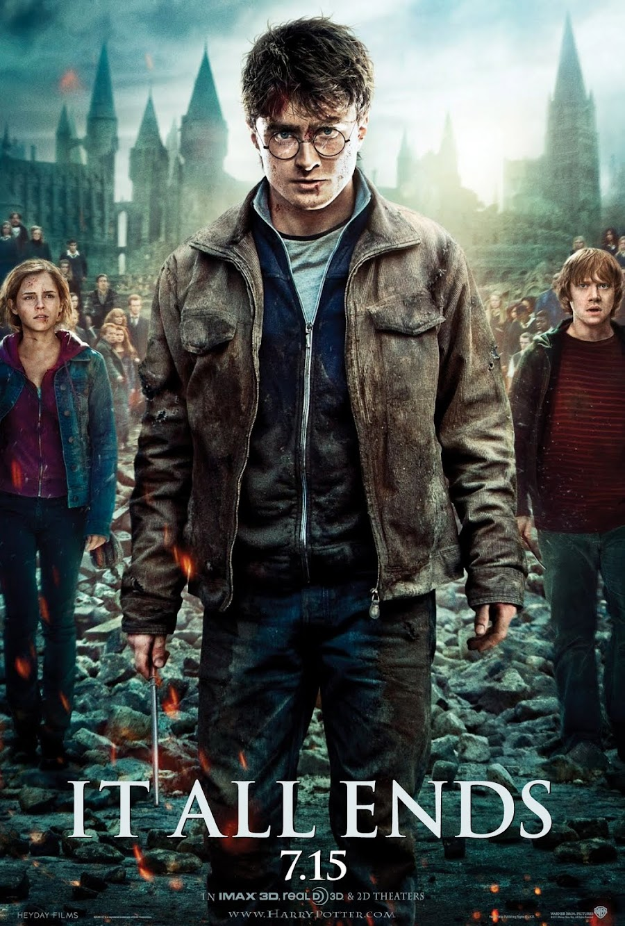 Harry Potter & The Deathly Hallows, Pt. 2