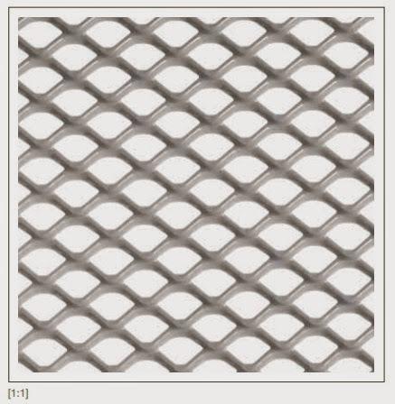 Tấm lưới Tấmkim loại trang trí cho mặt tiền MARACANA