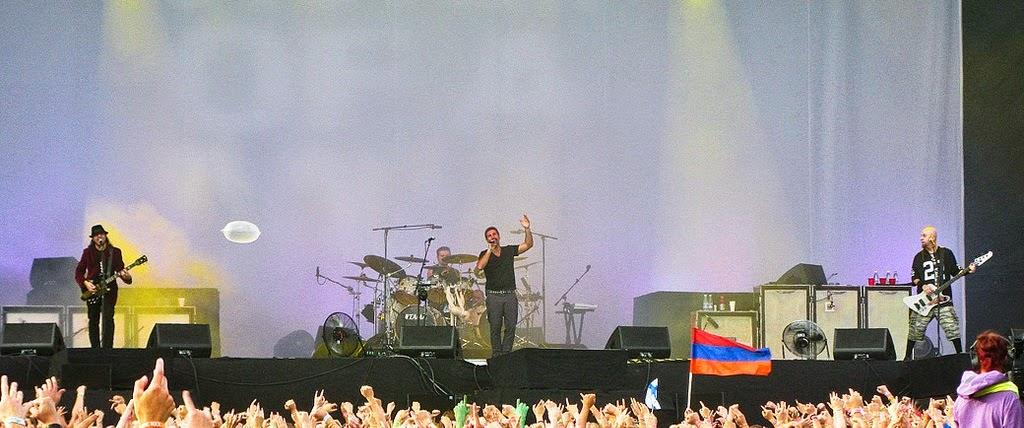 System of a Down pode confirmar o seu primeiro show em 2015