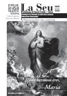 Hoja Parroquial Nº529 - Toda hermosa eres, María. Iglesia Colegial Basílica de Santa María de Xàtiva - Sexto aniversario de la erección de la colegiata.