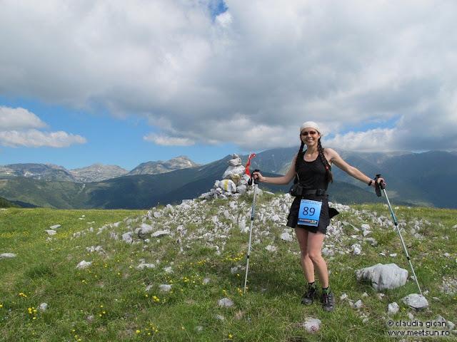 meet the sun @ Retezat Trail Race