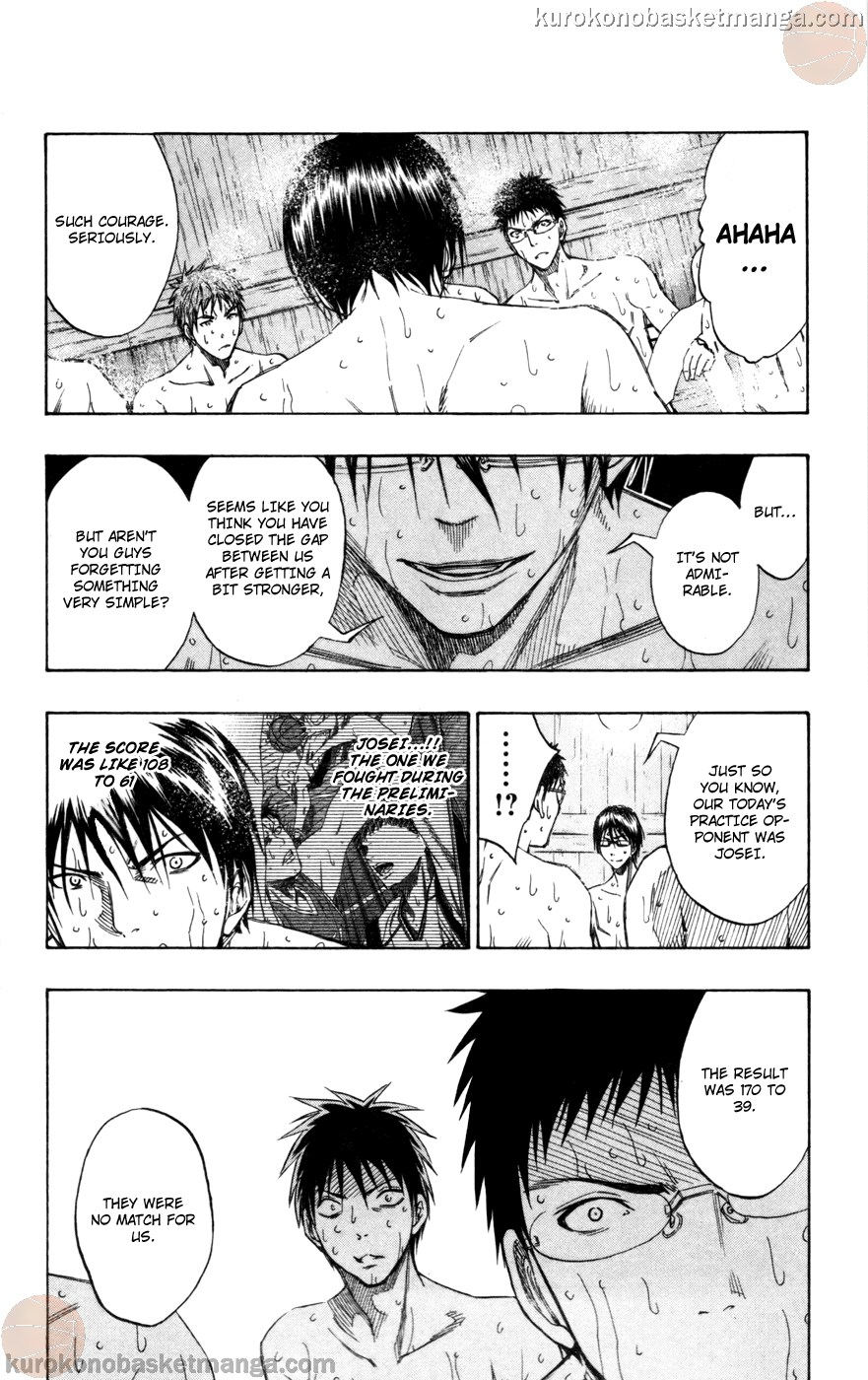 Kuroko no Basket Manga Chapter 110 - Image 16