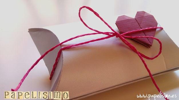 Cómo hacer una caja de regalo con tetrabrik - PAPELISIMO