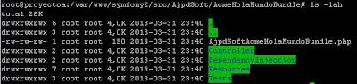 Primera aplicación web PHP con Symfony 2