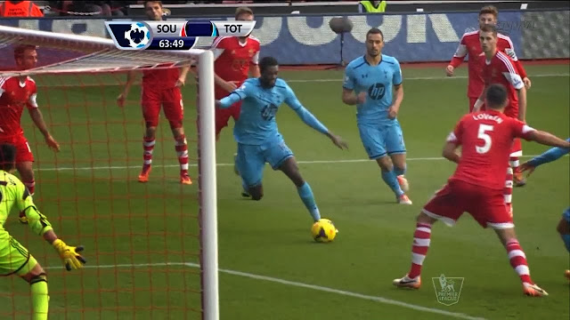 Adebayor, Southampton - Tottenham