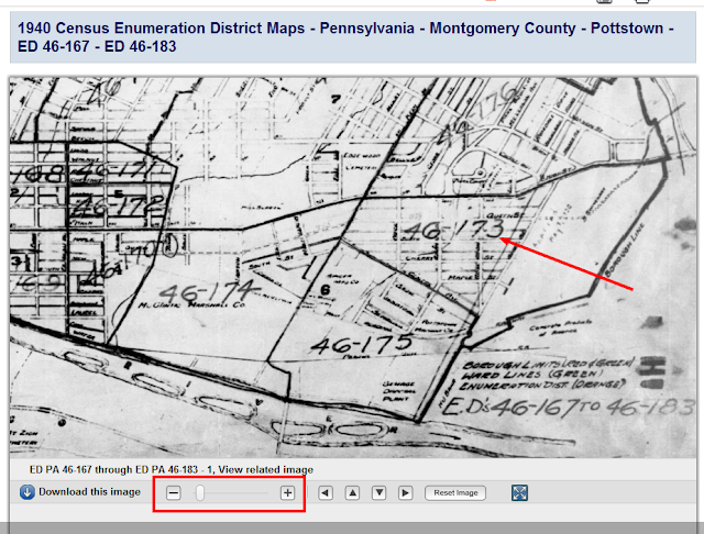 Tuesday's Tip – Finding An Enumeration District in the 1940 Census on