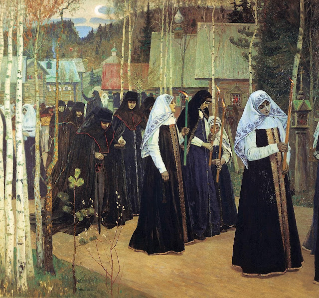 Mikhail Nesterov - Taking the Veil