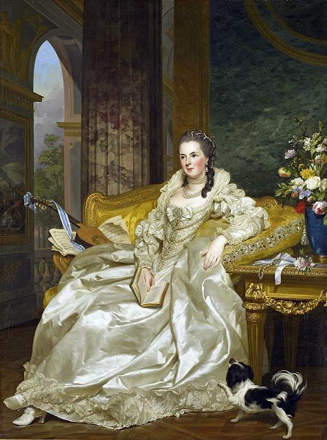 Alexander Roslin - Jeanne Sophie de Vignerot du Plessis, Countess of Egmont Pignatelli (1763)