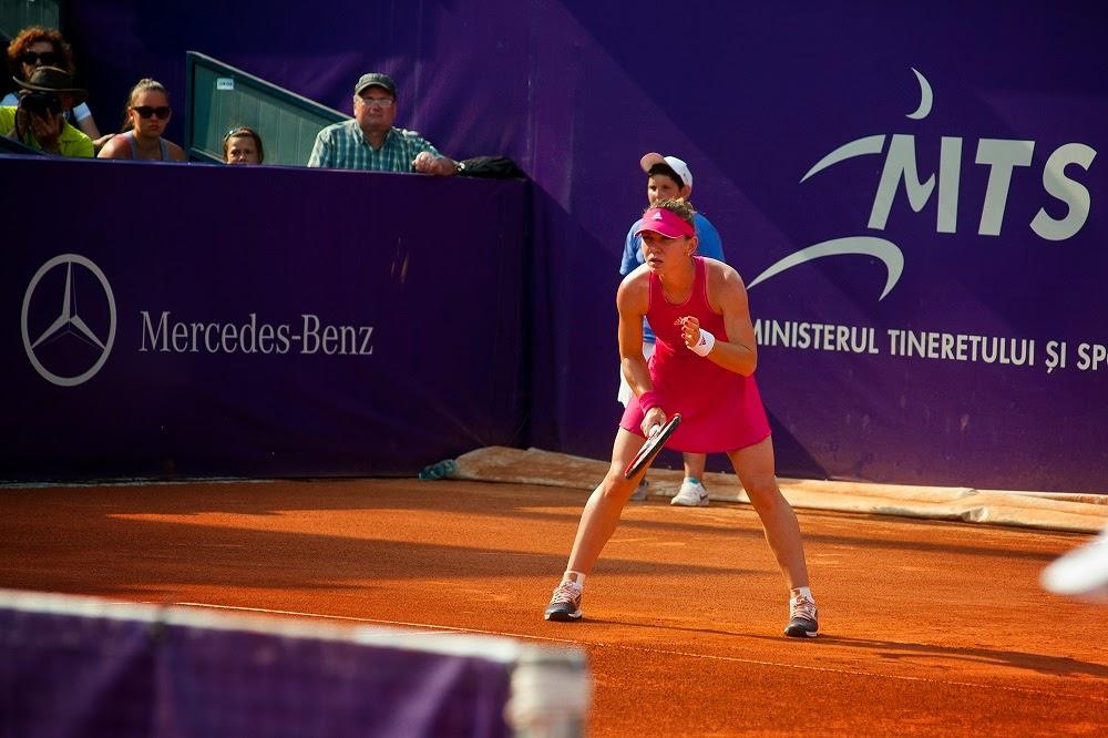 Principele Nicolae i-a ţinut pumnii Simonei Halep, la BRD Bucharest Open 2014
