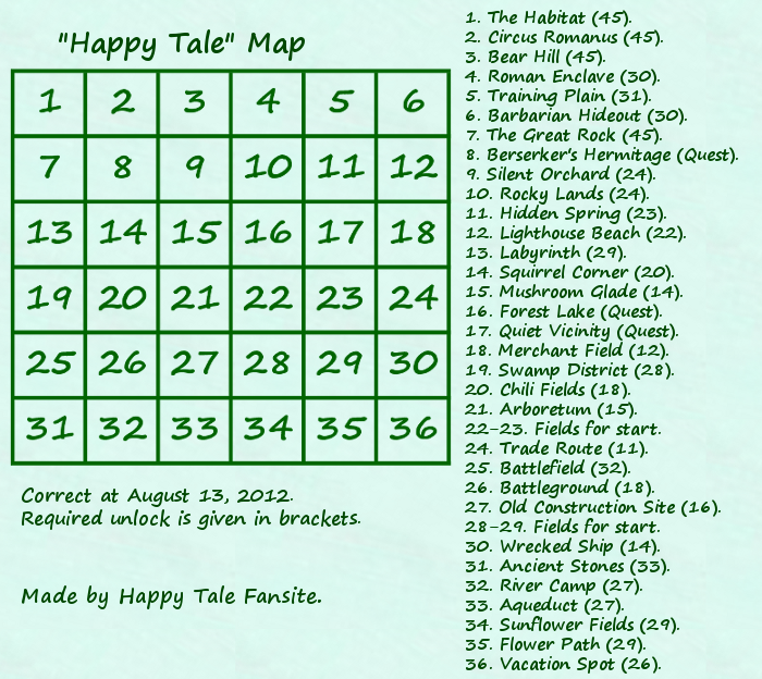 Happy Tale Map