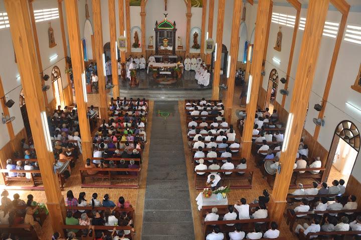 Thánh lễ bổ nhiệm chánh xứ Vườn Vông