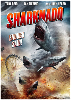 Capa do Filme Sharknado