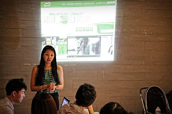 Sesi penerangan kempen Malaysia's Longest MILO Relay