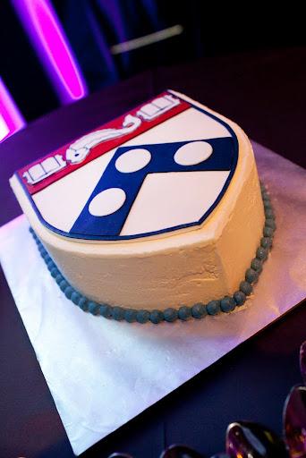 wharton school grooms cake