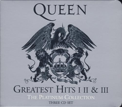 Queen - Greatest Hits I,II & III (The Platinum Collection) [3CDs] (2011)