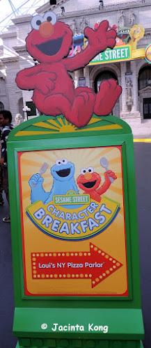 Sesame Street Character Breakfast at USS | jaznotabi