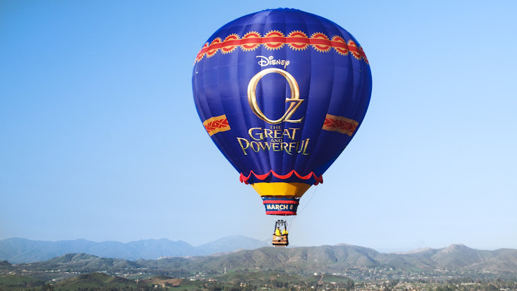 Oz the Great and Powerful Journey to Oz Tour Balloon