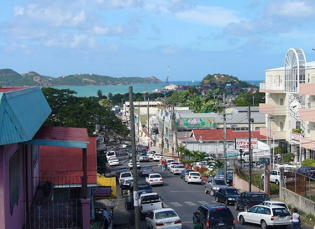 Centre ville d'Antigua et Barbuda