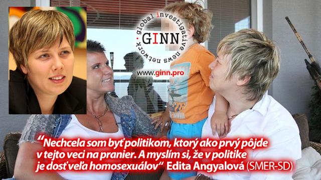 Edita Angyalová sa k orientácii k rovnakému pohlaviu priznala až po odchode z politiky