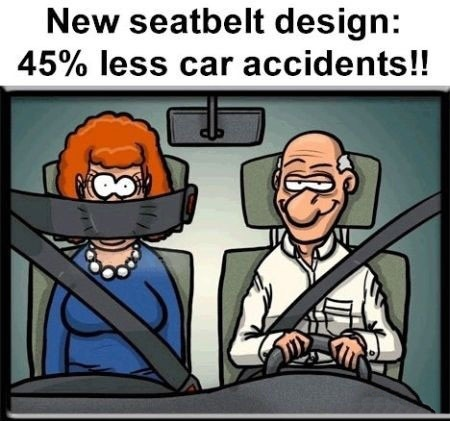 New Seat Belt Design