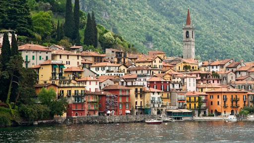 Lake Como and the Village of Varenna, Italy.jpg