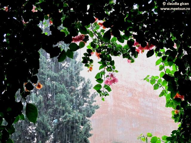 ploaie de toamna la Roma