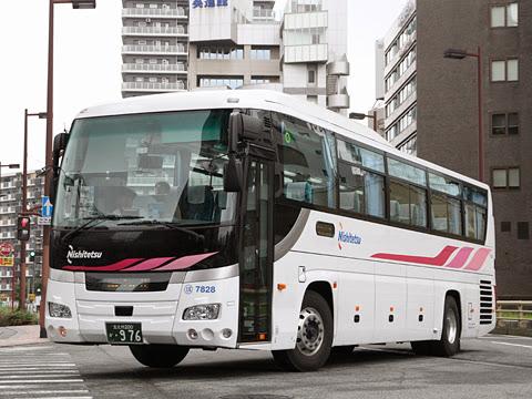 西日本鉄道「いとうづ号」 7828