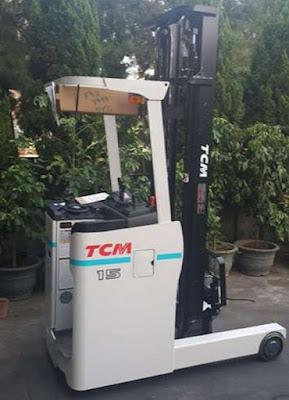 Xe nâng điện đứng lái TCM FRB15-9