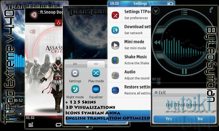 TTpod - Phần mềm Nghe nhạc