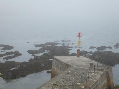 A foggy Portscatho