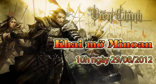 Viễn Chinh Online ra mắt máy chủ mới Minoan 1