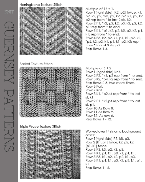 Guernsey Knitting Patterns : DiaryofaCreativeFanatic