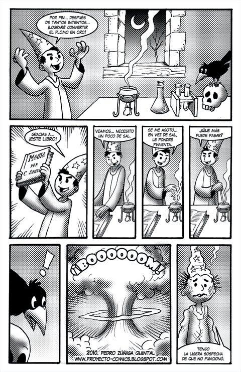 Proyecto Comics El Maguito Ambicioso