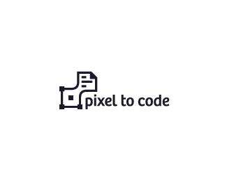 Pixel to Code Logo