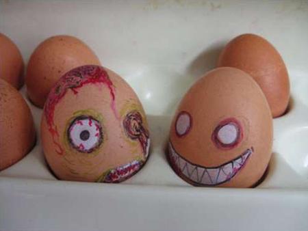 Nhân hóa cho quả trứng