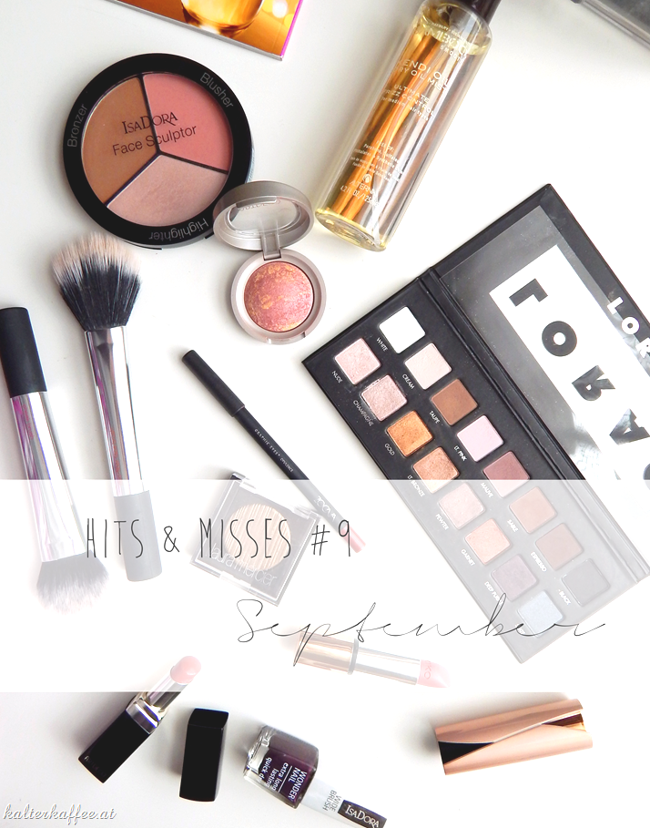 Beauty Blog September favourites