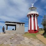 Hornby Lighthouse and a gun emplacement (255710)