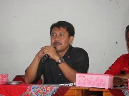 Berita Ngawi hari ini adalah pelantikan ketua DPC PDI Perjuangan Kabupaten Ngawi