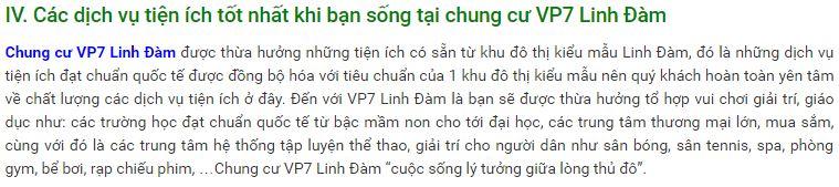 Chung cư VP7 Linh Đàm - Dự án chung cư giá rẻ HOT nhất 2016 - 8