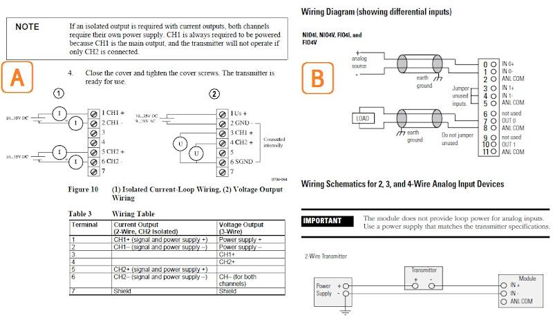 Sensor Wiring Selection Plcs Net, Terminal Block Wiring Diagram