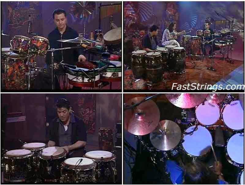 Raul Rekow, Karl Perazzo - Supernatural: Rhythm & Grooves