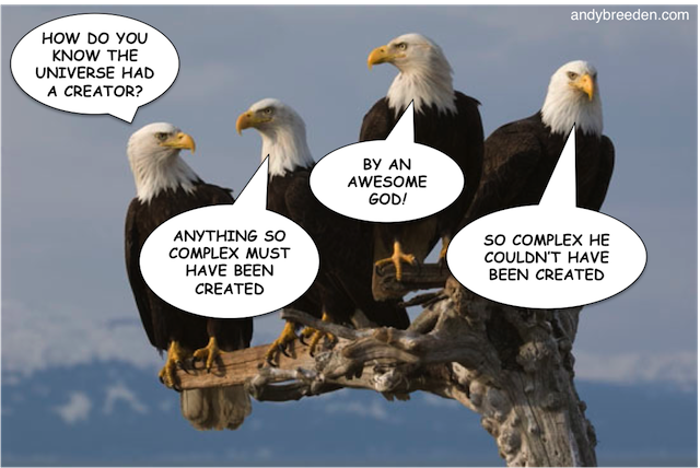 Eagles Discussing Creation